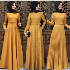 👍🏼 Size Please send dm or WhatsApp message to place your order. Hijab Dress Party, Hijab Style Dress, Islamic Fashion, Muslim Fashion, Abaya Fashion, Fashion Dresses, Modest Dresses, Casual Dresses, Habits Musulmans
