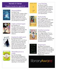 "LibraryAware customers...Our Book Squad just added this ready-to-go 2-sided bookmark for your 9 to12 year old readers to LibraryAware. Find it under the ""wide bookmarks"" section."