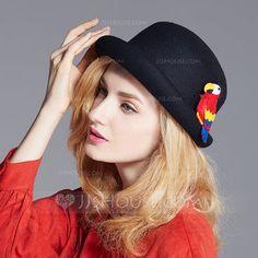 c691a8b6788c9b [US$ 30.00] Ladies' Simple/Nice/High Quality/Vintage Wool Floppy Hat  (196170730)