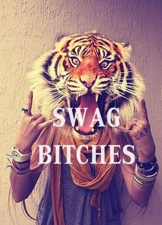 """I don't like the whole """"swag"""" trend but I do enjoy the picture"""