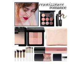 """""""Renaissance Romance"""" by juliehalloran ❤ liked on Polyvore featuring beauty, MAC Cosmetics, INIKA, Bobbi Brown Cosmetics, Forever 21, NARS Cosmetics and Bare Escentuals"""