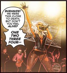 Black Canary!