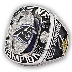 Carolina Panthers NFC 2015 Super Bowl Championship Ring
