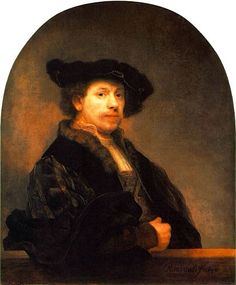 Rembrandt at age 34 c 1640                                                                                                                                                                                 More