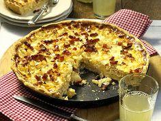 Zwiebelkuchen - Kind of like quiche, but fall German onion tart.