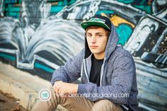 Gotta love the graffiti!  %Phoenix Senior Portrait Photographer