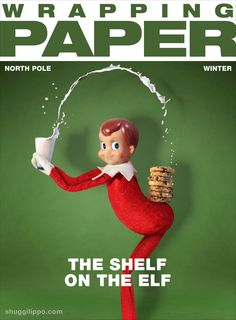 The Shelf on the Elf via @shuggilippo