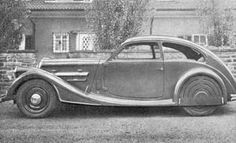 Wanderer-Prototype one-off -privat prof F Porsche car