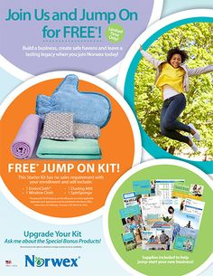 Join Norwex in February risk free! For more details: www.beatamcglawn.norwex.biz