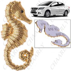 http://www.chaarly.com/decals-stickers/31355-coolest-sea-horse-shaped-sticker-chrome-badge-decal-for-car-vehicle-automobile-golden.html
