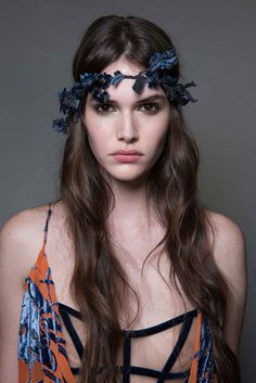 Fairy-Tale-Worthy Flower Crowns Receive a Rock-and-Roll Update at Atelier Versace