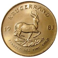 Krugerrand Gold Coin - 1 oz.