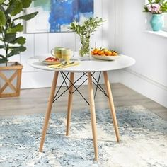 Shop for Simple Living Elba Mid-Century Dining Table. Get free delivery at Overstock - Your Online Furniture Shop! Get in rewards with Club O!