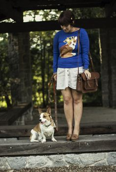 Our community is the best! Check out this adorable customer's coordinating pup and sweater!