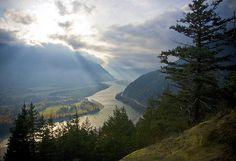 Fraser River Valley, near Hope, BC