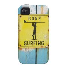 Gone Surfing Iphone Case Case-Mate iPhone 4 Case