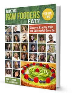 you reed book: WHAT DO RAW FOODERS EAT?