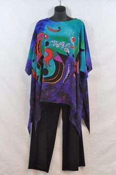 art silk plus size women's clothing.  Go to www.tandsfashions.com for more
