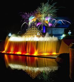 EPCOT Center - Fireworks Friday
