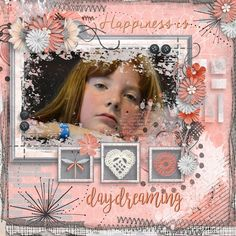 For this layout, I used Designs by Laura Burger's new kit, Happiness Is. This kit is part of the January Pickle Barrel. The best part about this is, other than the gorgeous kit itself is, that it's on sale for an amazing price until January 20. You can find this amazing kit here: https://www.pickleberrypop.com/shop/product.php?productid=48631&page=1