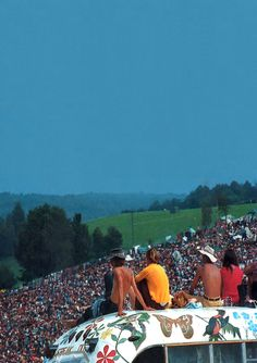 The story of woodstock still blows my mind..if I could have lived through anything, this would be one of those things