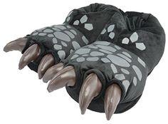 Hausschuhe Dreamworks Dragons: Ohnezahn Drachenfüße 3D Slipper - http://on-line-kaufen.de/dragons/hausschuhe-dreamworks-dragons-ohnezahns-3d