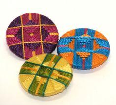 Gillian McMurray: Artist & Craftsperson: Passementerie buttons.
