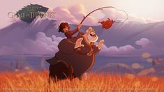 Game Of Thrones Disney Style Illustration Combo Estudio 5 5aafaa9023bbf 880