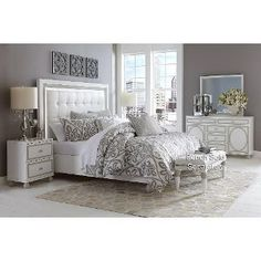 RC Willey 6PC:90256SKYTOWER50  Sky Tower  6-Piece Queen Bedroom Set