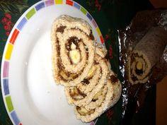 Csokis-banános zabtekercs Breakfast, Food, Morning Coffee, Meal, Essen, Hoods, Meals, Morning Breakfast, Eten