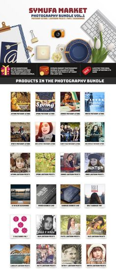 91% OFF Symufa Market Photography Actions & Presets by Symufa