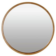 Buy Heart of House Holt Deep Round Wall Mirror - Oak Effect at Argos.co.uk - Your Online Shop for Mirrors, Home furnishings, Home and garden.