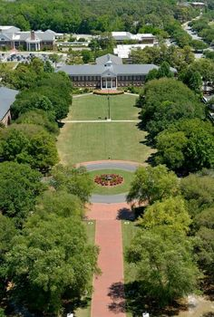 UNC Wilmington, aerial photo