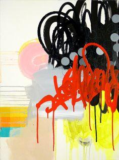 "NY10#11,24"" x 18"",mixed media on canvas,2010  available at Etsy   limited edition print available at Art.com"