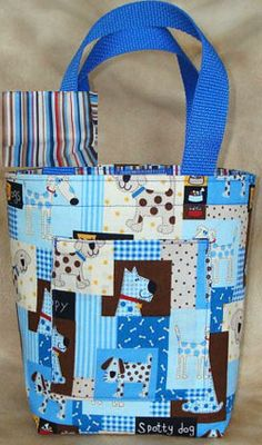 Adorable Dog Themed Tote Bag only $18!