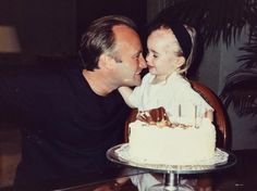 Lily Collins (@lilyjcollins) - Happy birthday dad! Thank you for inspiring me to tell stories, pursue my dreams, and live my life #Unfiltered. No matter how old I get, I'll always be your lil Lil and want to help you blow out your candles. Love you to the moon and back again...