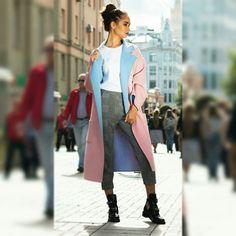 Пальто Шерсть 80% Кашемир 20% Размер:oversize