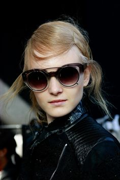 Erdem Spring 2014 #sunglasses, available at www.sunglasscurator.com
