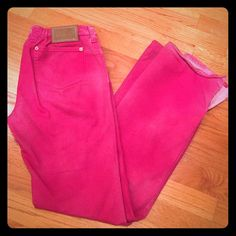 Pants Dolce&Gabbana Pink/ magenta D&G pants / 98% cotton/ used- couple tiny spots on 4th picture but not visible/ Italian size 44 fits like 6-8••••••••••••••••••••••••Finish the look. Add some jewelry( they are new)💍💍💍  and I ll make a bundle for you with 1️⃣5️⃣% OFF     🎉🎉🎉 Dolce & Gabbana Pants