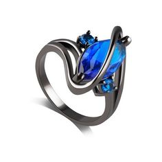Fake Gem Cuff Ring ($3.20) ❤ liked on Polyvore featuring jewelry, rings, artificial jewellery, gem rings, gemstone jewelry, fake rings and artificial rings