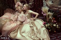 ❀ Flower Maiden Fantasy ❀ women & flowers in art fashion photography - Andrey Yakovlev | Vogue