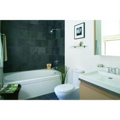 KOHLER Windward 6 ft. Right Hand Drain with Tile Flange and Apron Bathtub in White-K-1115-RA-0 - The Home Depot
