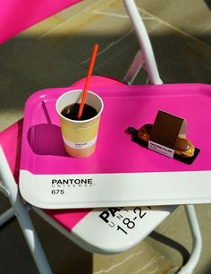 The Pantone Cafe will be open through September 9.