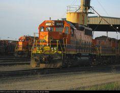 PNWR 3001   Description:    Photo Date:  4/18/2009  Location:  Albany, OR   Author:  Brian Miller  Categories:    Locomotives:  PNWR 3001(GP40-2) PNWR 101(RP-E4D) PNWR 2316(GP39-2)