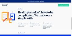 Oscar   Smart, simple health insurance.