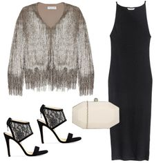 Evening - Team this yummy statementjacket with your favorite LBD and accessorize with lace sandals for a hint of feminine texture. Complete with a simple box clutch to temper the whole look.