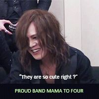 ...depressing... i kidding!!!! the gazette kai san is too nice lol funny