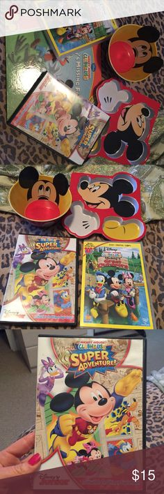 Disney Mickey Mouse Clubhouse DVDs