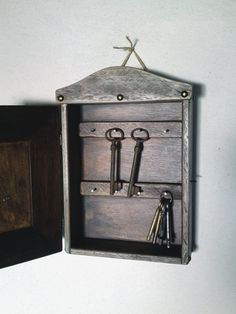 Decorative Key Box For The Wall Key Cabinet Key Storage Box Key Chain Box Keysimplecraftideas