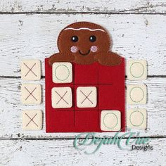 Gingerbread Tic Tac Toe